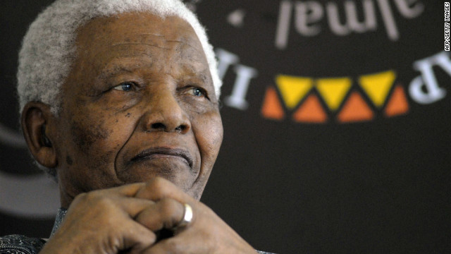 A file photo of Nelson Mandela dated August 20, 2008 (CNN)
