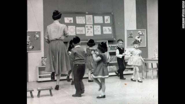 """When she was 3, Edwarda appeared on the TV show """"Romper Room."""" (CNN)"""
