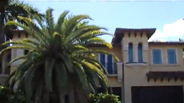 The $2.5 million mansion that is currently being legally inhabited by a squatter (Photo: WPTV)