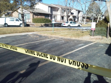 Three adults and a gunman were killed during this morning's standoff at an Aurora townhome