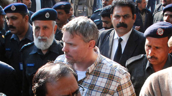 Raymond Davis is arrested on charges that he killed two men in Pakistan in January 2011 (Photo: CNN)