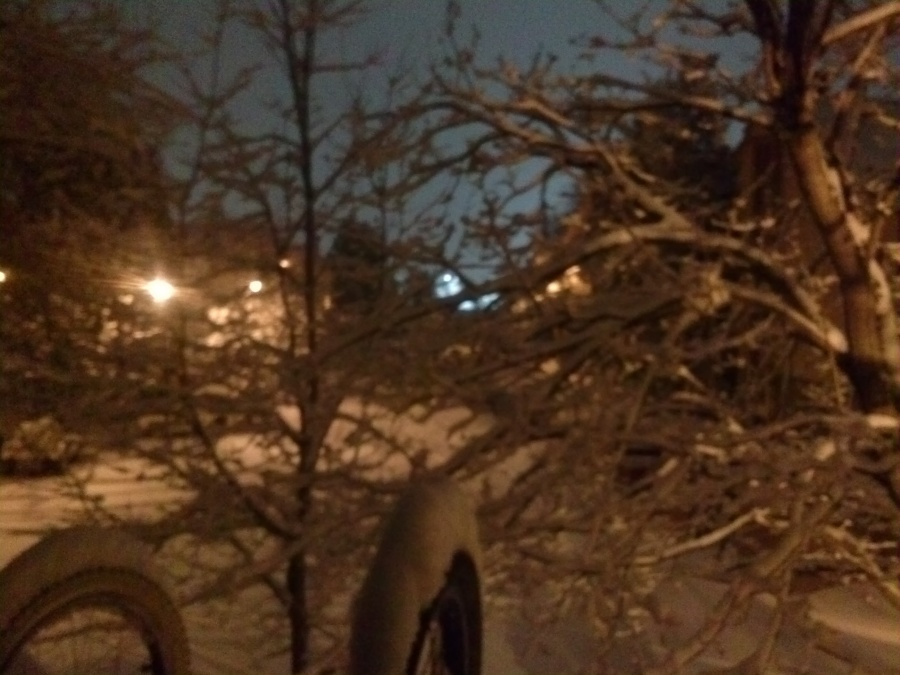 Coloradans wake up to snow Tuesday morning.
