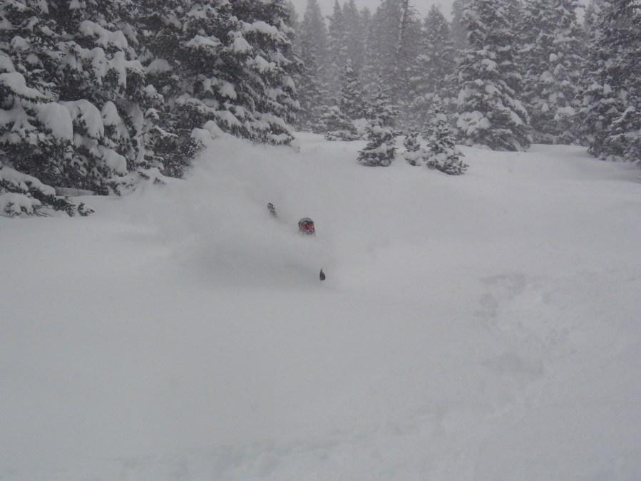 Silverton Mountain Ski Area is loving the new snow.