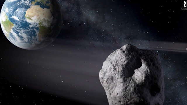 NASA says Asteroid 2012 DA14 made a record-close pass by Earth on February 15, (Photo: NASA)