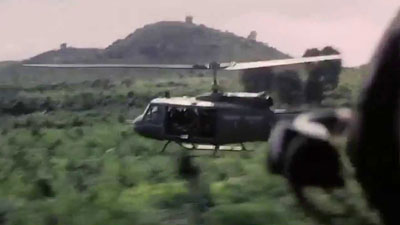 U.S. helicopters during the Vietnam War