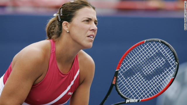 Former tennis star Jennifer Capriati is batting down accusations that she stalked and punched an ex-boyfriend. (Credit: CNN)