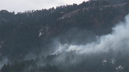 The Galena Fire on March 16, 2013 (Mike Abeyta)