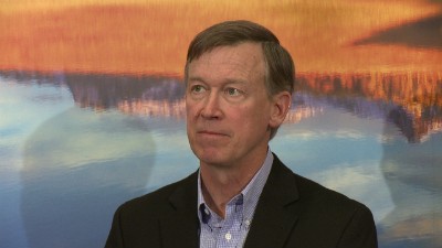 Colorado Gov. John Hickenlooper spoke to CNN Sunday about the slaying of DOC director Tom Clements.