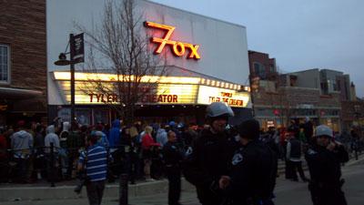 Boulder Fox Theater crowd