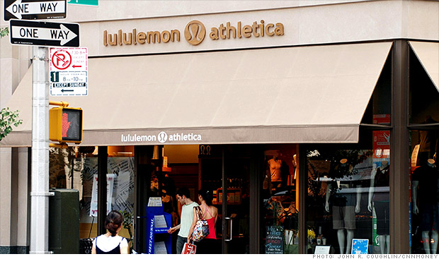 Sales at Lululemon are expected to be hurt by a recall of see-through yoga pants. (Photo: CNN)