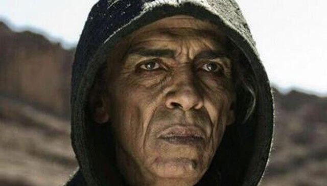 """The character of Satan on the miniseries """"The Bible"""" seems to bear a strong resemblance to a certain world leader. (Credit: The History Channel)"""