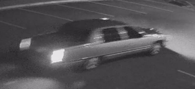 Police say this Cadillac Deville was used as a getaway vehicle by a pair of shooting suspects in Denver on March 12, 2013. (Photo: Denver Police Department)