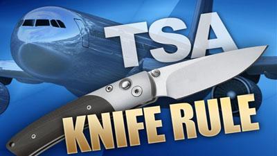 TSA Knife Rule