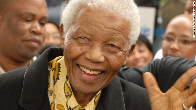 Nelson Mandela, seen voting in South Africa's April 2009 elections, was hospitalized on March 27, suffering from a lung infection (CNN).