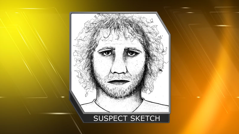 A sketch of one of the suspects involved in an assualt outside a Pearl St. bar Monday, April 8, 2013 (Boulder PD)