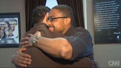 From anger to forgiveness: Man befriends brother's killer (CNN)