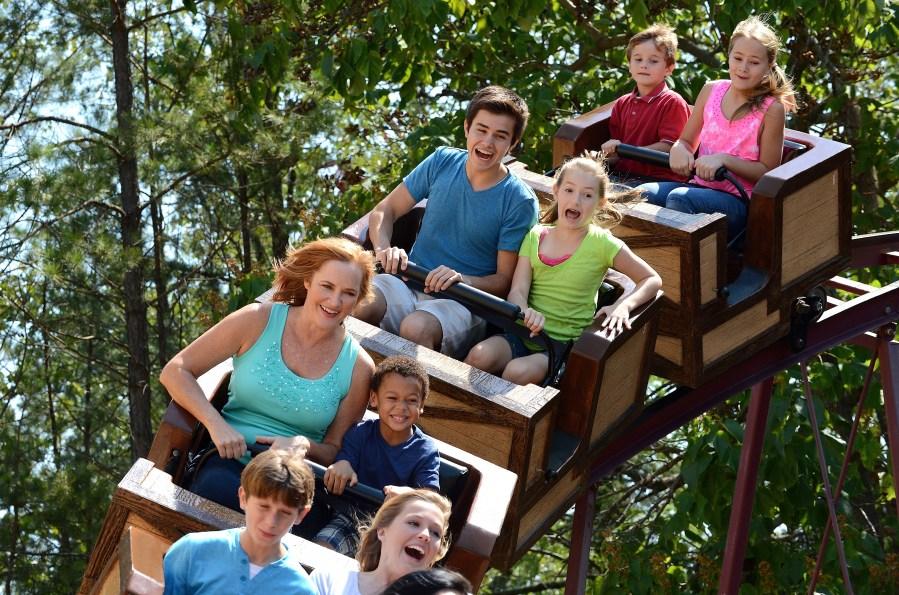 Elitch Gardens is debuting Blazin' Buckaroo, a new family friendly roller coaster. (Credit: Elitch Gardens)