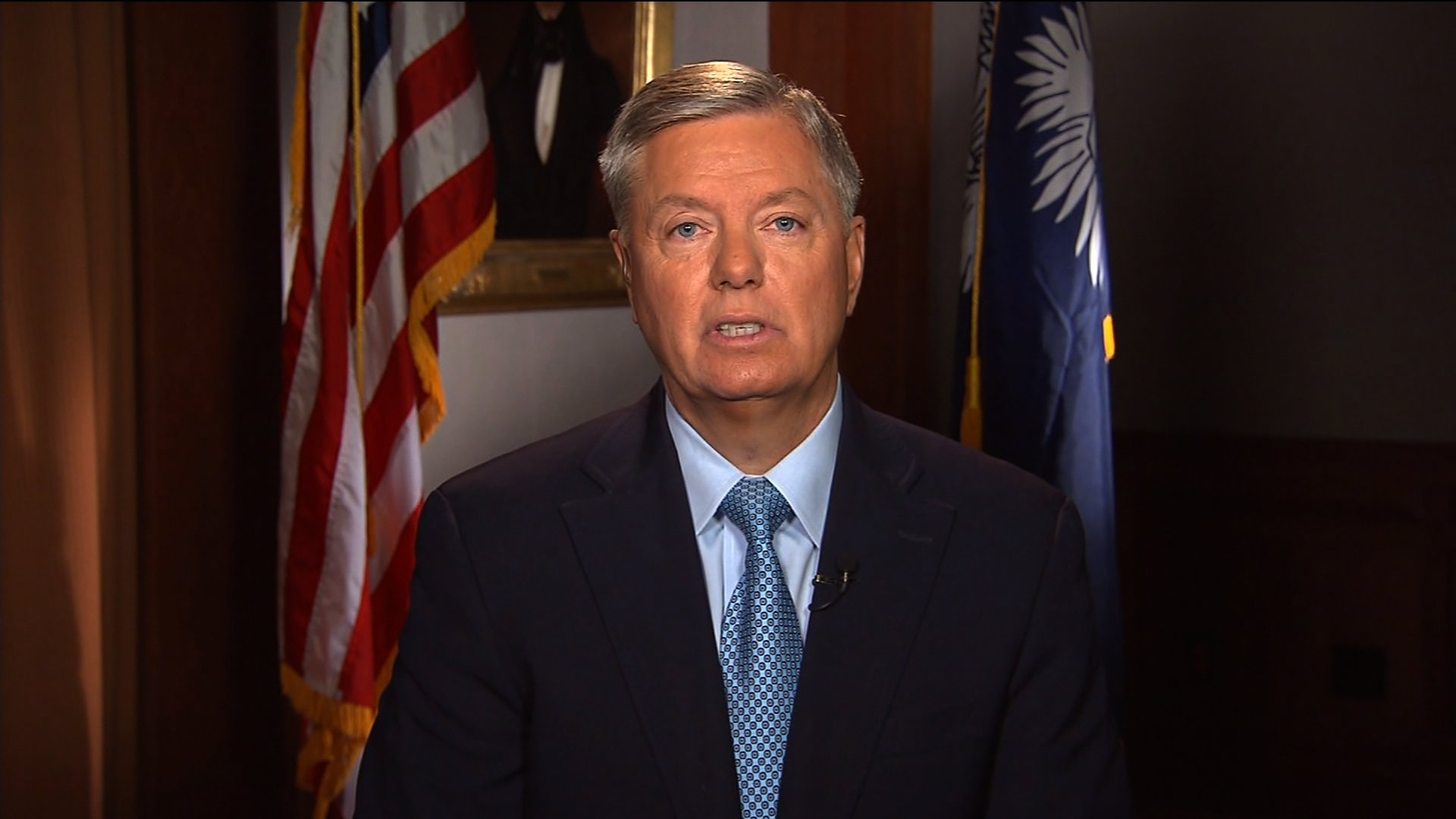 Republican Sen. Lindsey Graham said Thursday the administration is to blame for not preventing last week's terror attack at the Boston Marathon finish line. (credit: CNN)