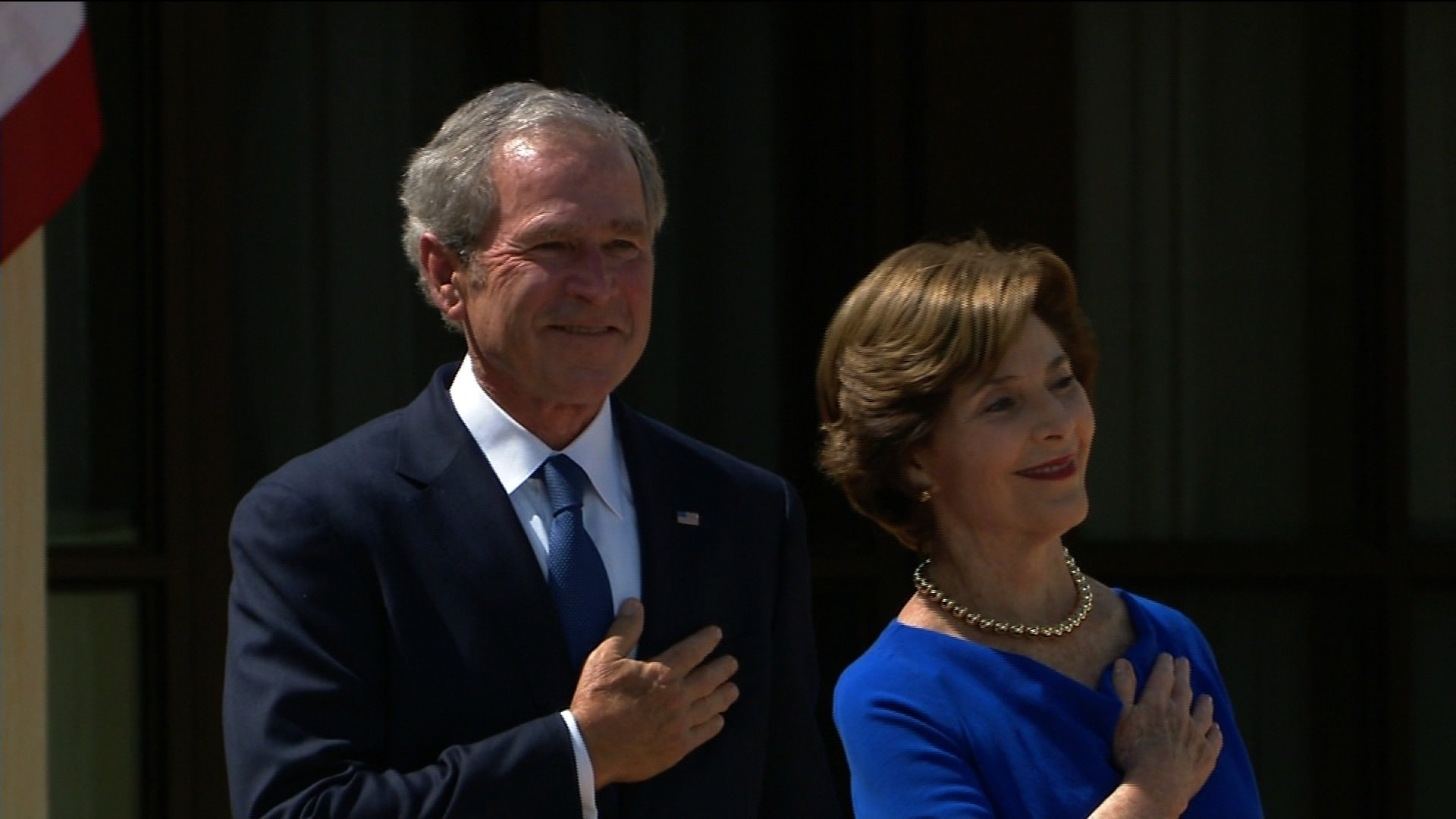 Five presidents -- three Democrats and two Republicans --gathered today in Dallas at the ceremony for the George W. Bush Presidential Center. (Credit: CNN)