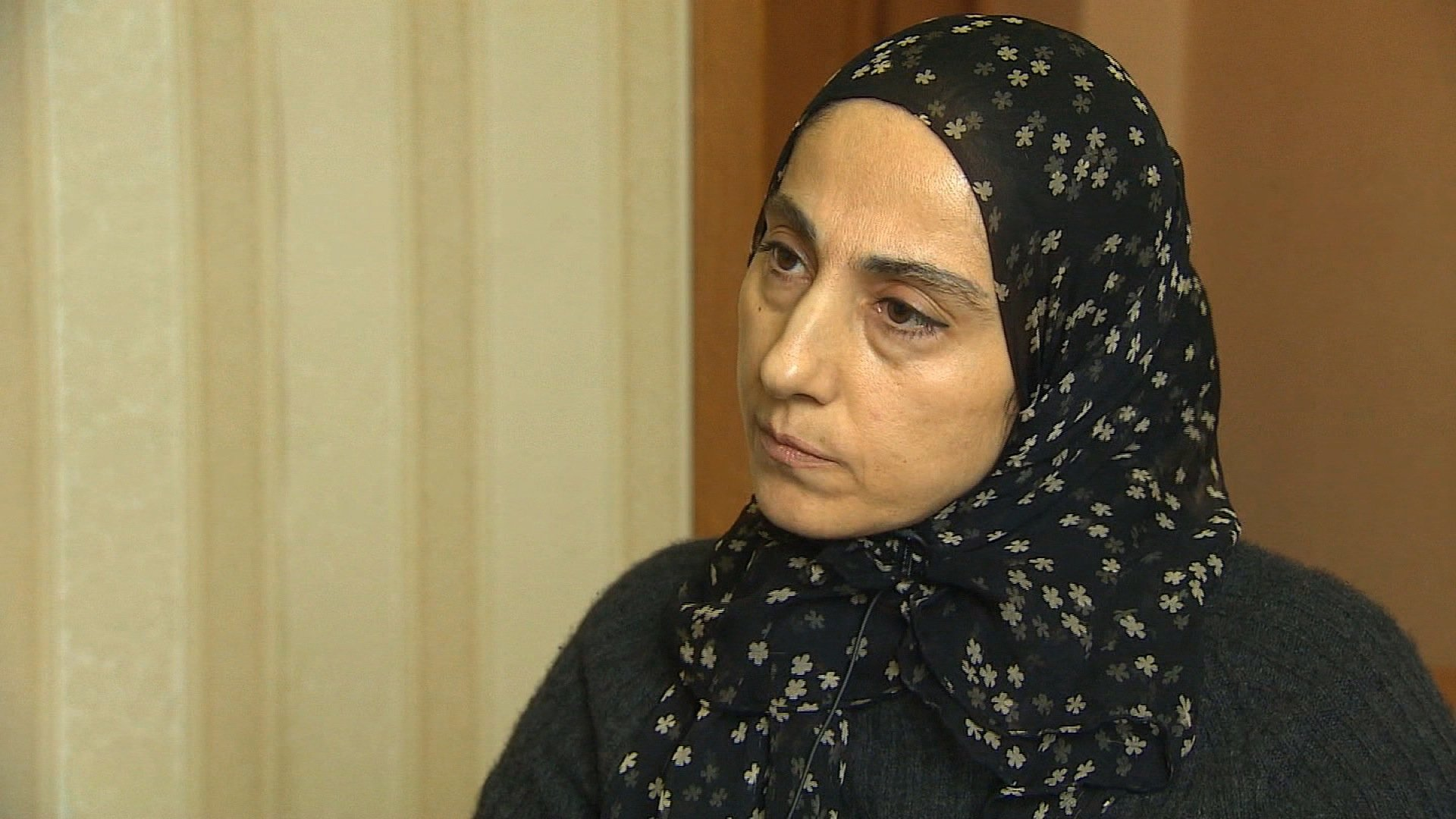 "Russia intercepted a communication between Zubeidat Tsarnaev, the mother of the accused Boston Marathon bombers, and someone who may have been one of her sons ""discussing jihad"" in 2011. (credit: CNN)"