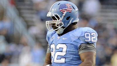 Denver Broncos draft defensive tackle Sylvester Williams from North Carolina. Photo: Liz Condo/US Presswire