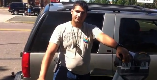 An Army veteran is suing the city of Colorado Springs after he was inappropriately arrested for carrying a firearm. (Credit: YouTube)