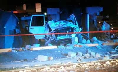 Chase ends in crash at Leetsdale and Quebec in Denver