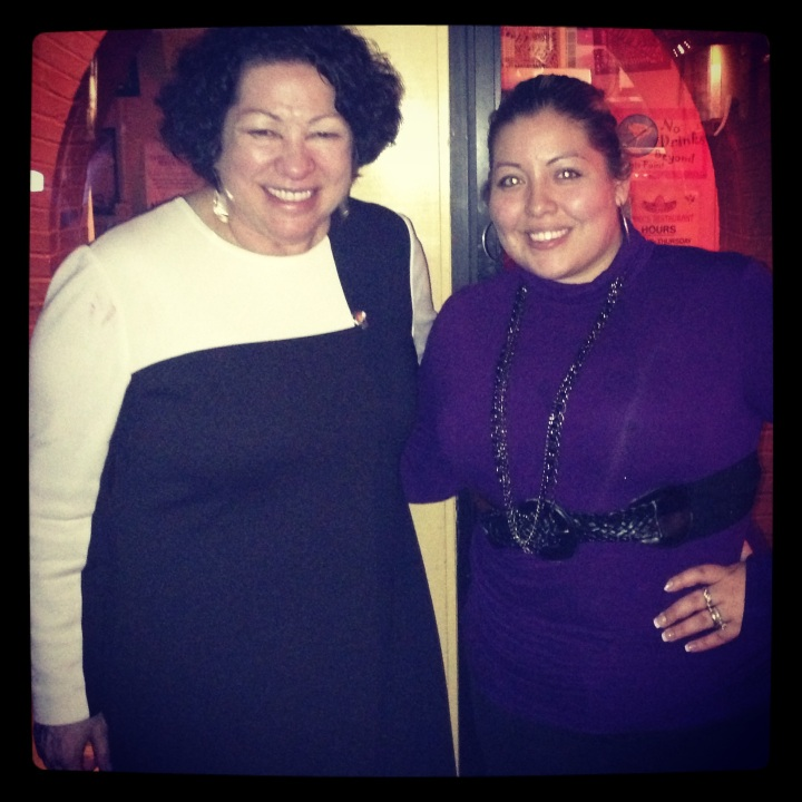 Sonia Sotomayor stopped by Benny's Restaurant and Tequila Bar in Capitol Hill on May 1, 2013. (Photo: Courtesy Benny's Restaurant)