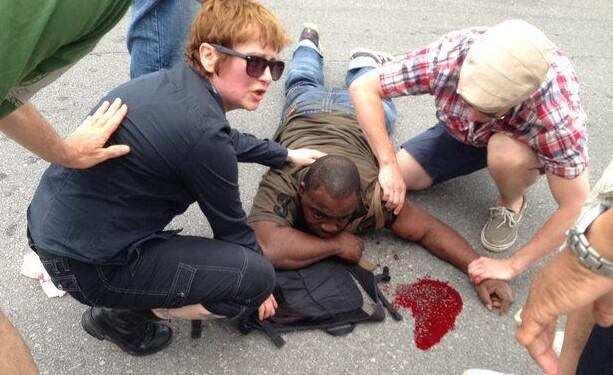 Nineteen people were hurt in a mass shooting in New Orleans Sunday. (Credit: Twitter)