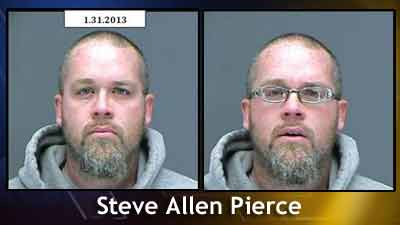 Suspect without and with glasses. Photos: Thornton Police Dept.