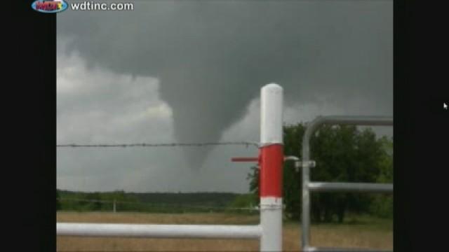 Granbury, Texas tornado. Photo: myFOXdfw.com