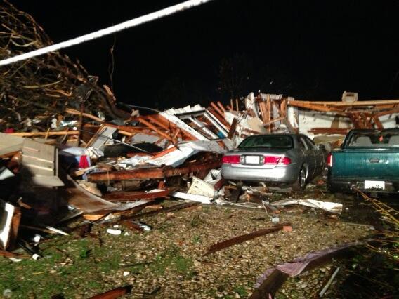 North Texas tornado. May 15, 2013. Courtesy: NBC5/Scott Gordon