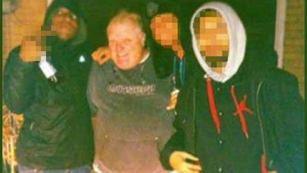 This photo allegedly shows Toronto Mayor Rob Ford with a man who, according to a source, is a fatal gunshot victim. The photo was given to the Toronto Star by the same person who later showed Star reporters a video in which Ford appears to be smoking crack cocaine. (Photo: Fox News)
