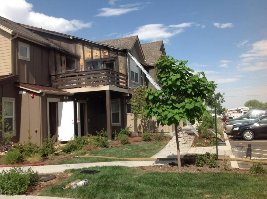 Condo building in question.(Credit: Boulder Police)