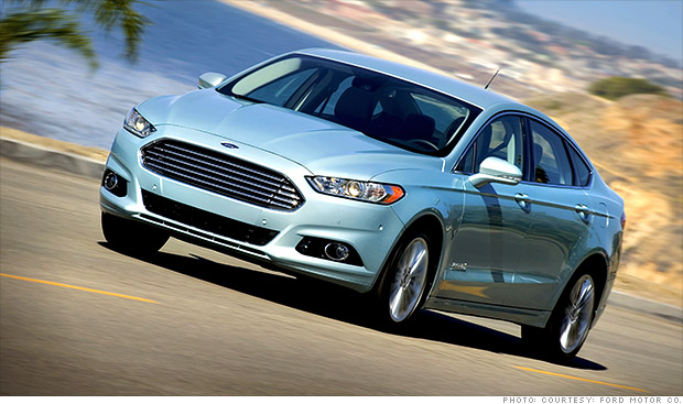 The 2013 Ford Fusion is one of the models recalled by the company due to fuel leaks. (Photo: CNN)