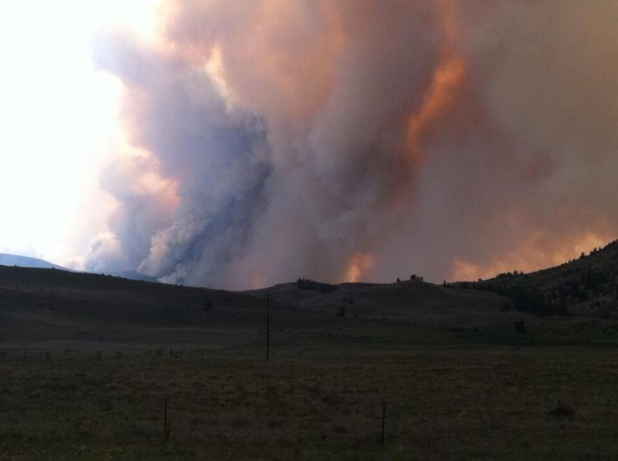 Papoose Fire (Photo: Colorado State Patrol, Alamosa)