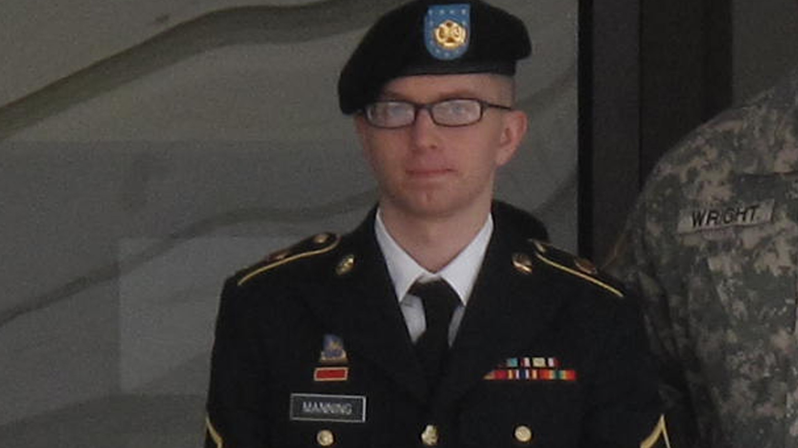 U.S. Army Pfc. Bradley Manning departs a military court hearing on March 15, 2012. (Credit: CNN)