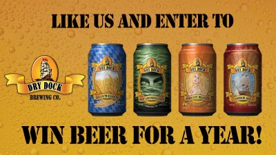 congratulatios to the winner of free beer for a year from