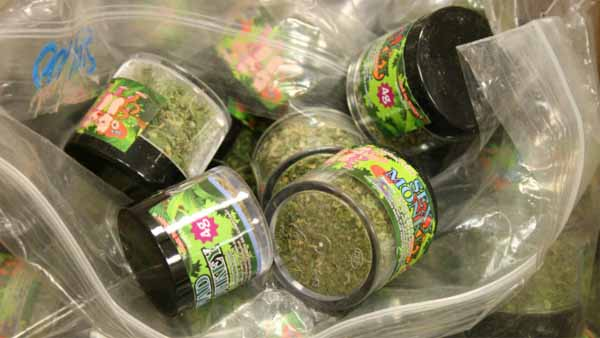 This synthetic marijuana paraphernalia was seized from a Denver SunMart in 2012. (Photo: Denver Police)