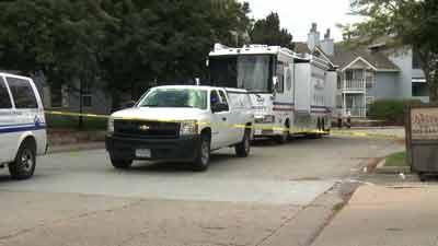 Crime scene in Longmont investigated. September 5, 2013