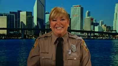 Miami-Dade Police Officer Vicki Thomas