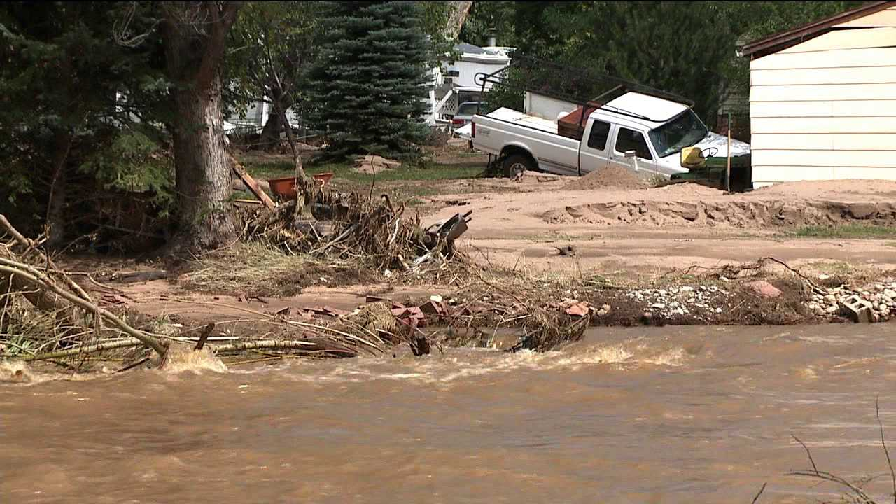 Flooding in Lyons, Colo.