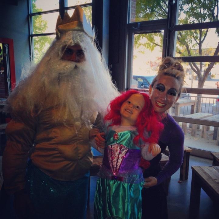 Little Mermaid Family. Photo: Jen Thomsen