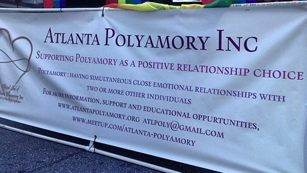 More than ever, groups like this on in Atlanta are springing up in support of polyamory. (Photo: Instagram / grinsli)