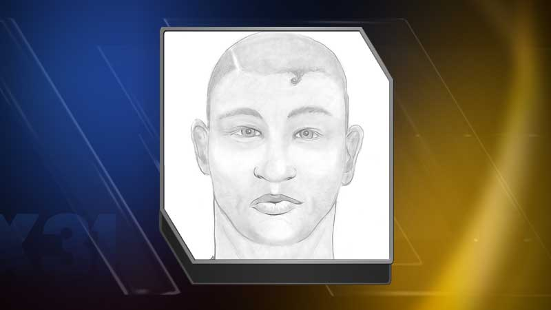 Police say this is a sketch of a man who allegedly tried to sexually assault a 22-year-old woman near CSU. (Photo: Fort Collins Police)