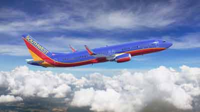 Southwest Airlines jet. Photo credit: Southwest Airlines