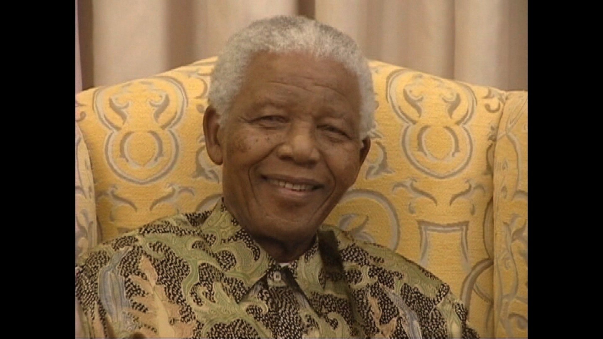 Nelson Mandela, the first black president of South Africa, celebrates his 90th birthday on July 18, 2008 in Qunu, South Africa.