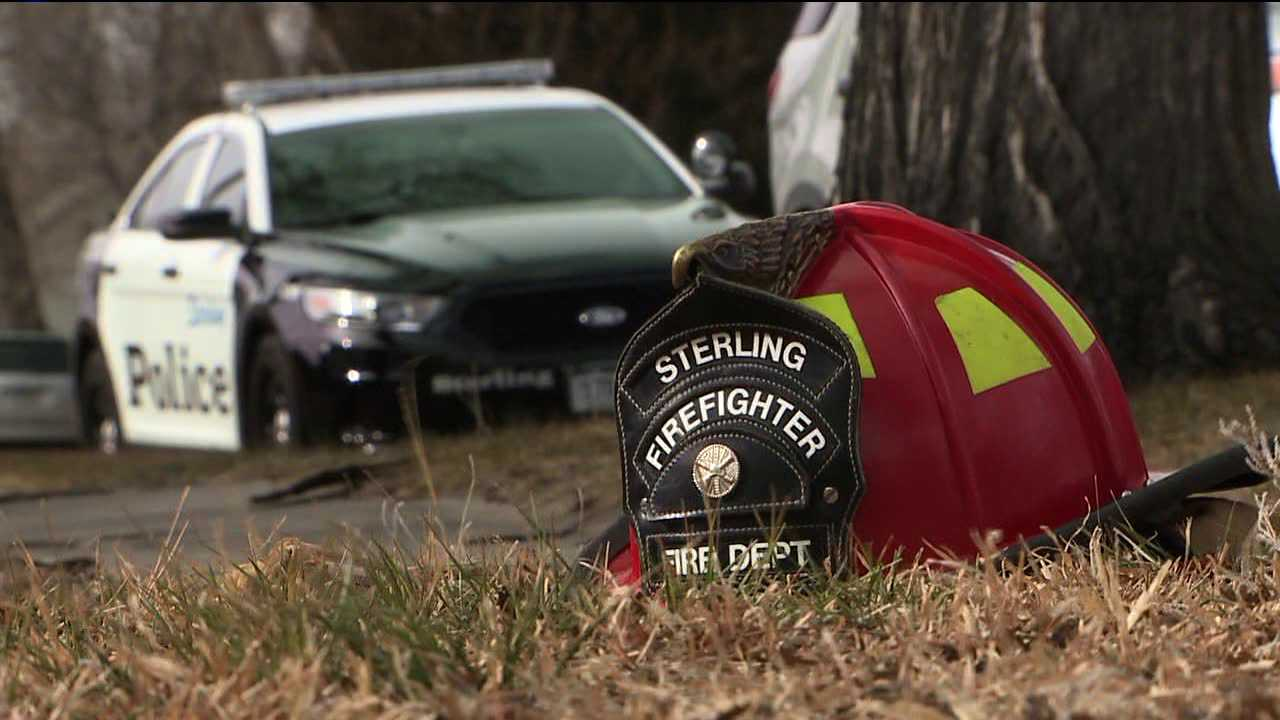 Authorities respond to deadly house fire in Sterling, Colo.
