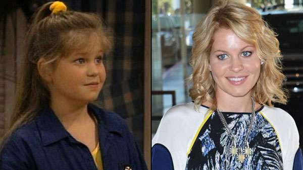 """Full House"" star Candace Cameron Bure in YEAR as D.J. Tanner, left, and now, right. (Photo: CNN)"