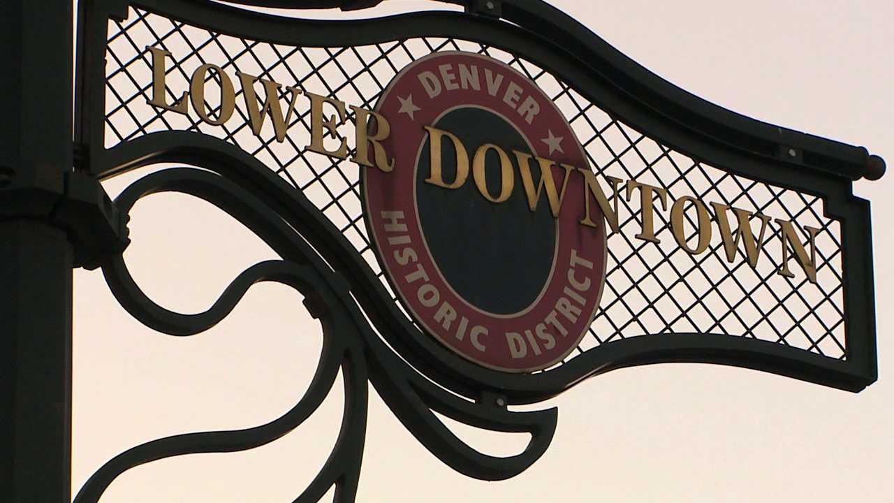 Lower Downtown Denver sign